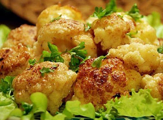 Блюда из цветной капусты в кляре рецепт с фото