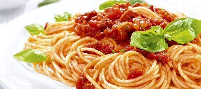 Болоньезе рецепт с томатной пастой в домашних условиях