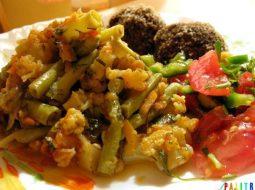 Брокколи цветная капуста стручковая фасоль рецепт