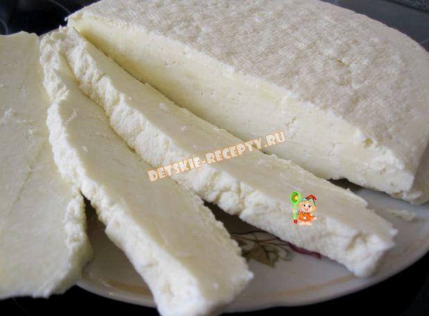Брынза с пепсином в домашних условиях рецепт с фото пошагово