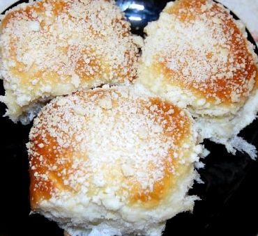 Булочки с посыпкой пошаговый рецепт с фото