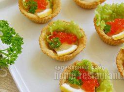 Чем заполнить тарталетки на праздничный стол самый простой рецепт
