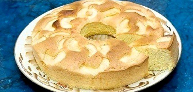 Диетическая шарлотка с яблоками рецепт с фото пошагово в духовке