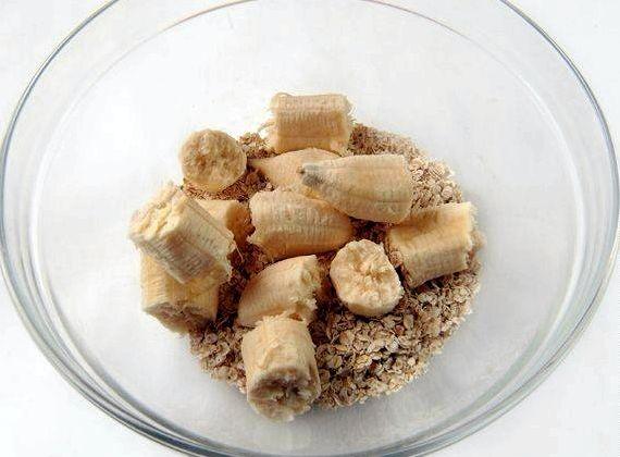 Диетическое овсяное печенье рецепт с бананом