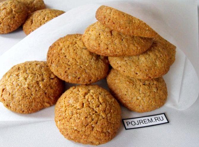 Домашнее овсяное печенье без муки рецепт