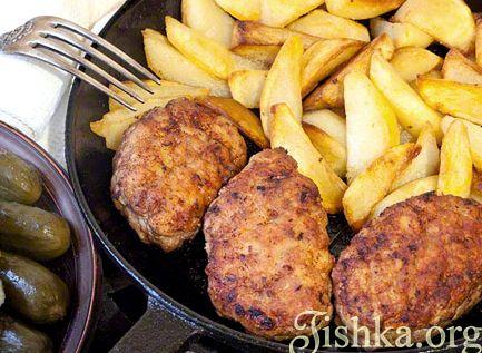 Домашние котлеты рецепт пошагово с фото