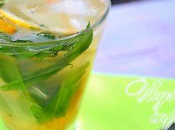 Домашний лимонад из лимонов с мятой рецепт