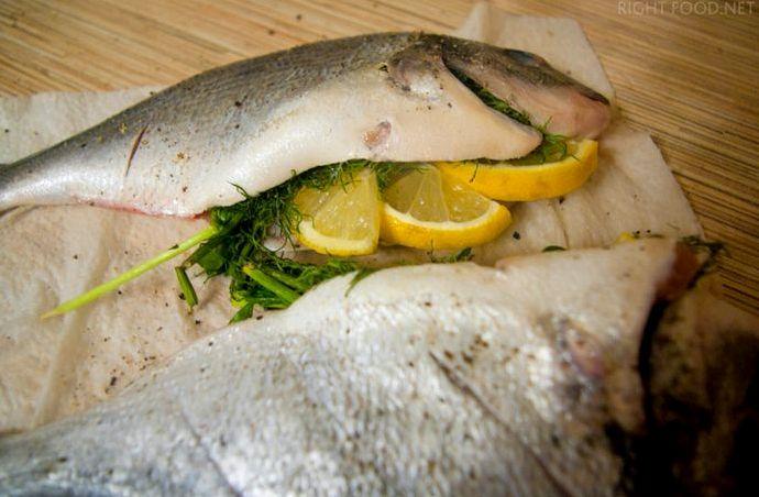Дорадо в духовке в фольге рецепт с фото с лимоном