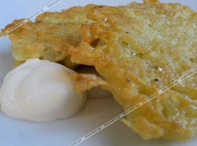 Драники картофельные с грибами пошаговый рецепт с фото