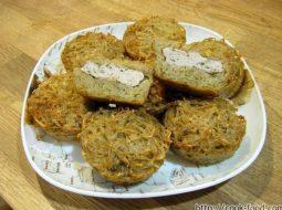 Драники с мясом в духовке рецепт с фото