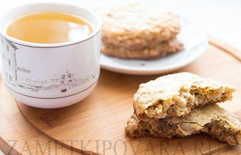 Европейское печенье с семечками рецепт
