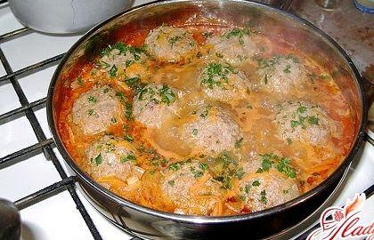 Ежики рецепт на сковороде с фото пошагово