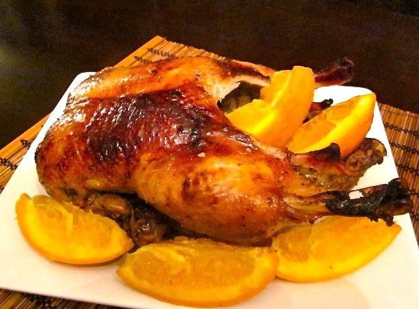 Фаршированная утка в духовке целиком рецепт с фото
