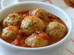 Фрикадельки рыбные в томатном соусе рецепт с фото