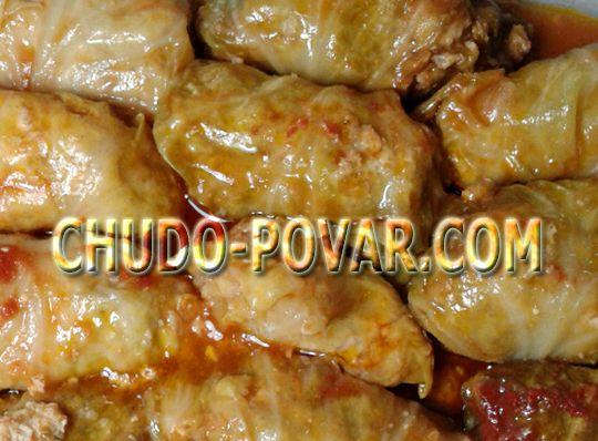 Голубцы из свежей капусты в мультиварке пошаговый рецепт с фото