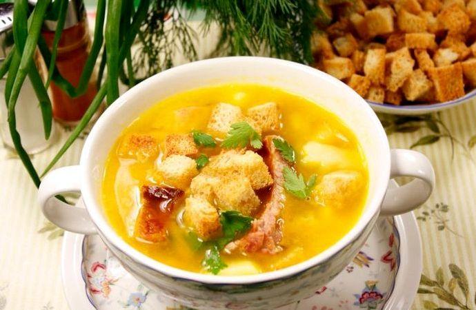 Гороховый суп классический рецепт с копченостями