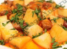 Говядина тушеная с картошкой рецепт с фото