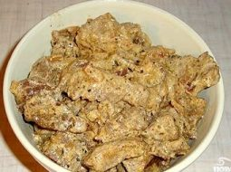 Говядина в сметане на сковороде рецепт с фото