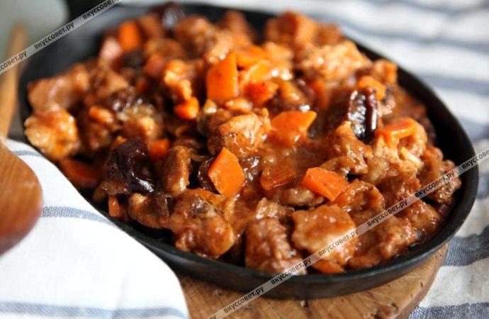 Гуляш из свинины рецепт с фото пошаговый