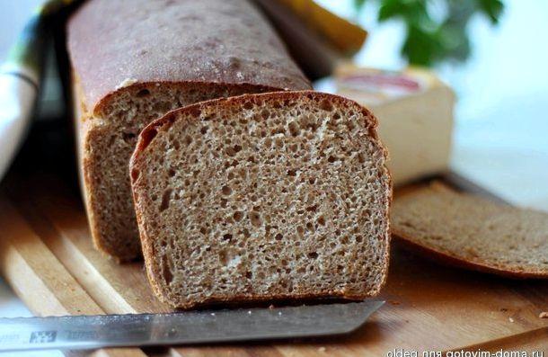 Хлеб из ржаной муки в духовке без дрожжей рецепт