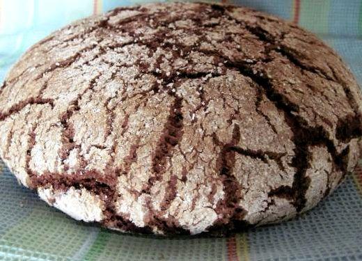 Хлеб из ржаной муки в духовке рецепт без пшеничной муки