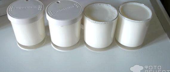 Йогурт в мультиварке редмонд в баночках рецепт