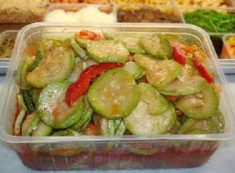 Кабачки по-корейски быстрого приготовления рецепт
