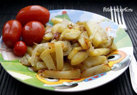 Как пожарить картошку с фаршем на сковороде пошаговый рецепт