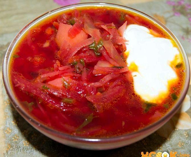 Как приготовить борщ рецепт пошаговый