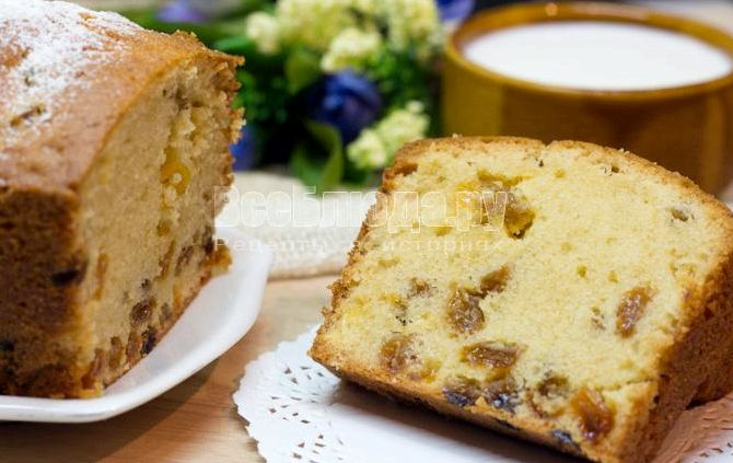 Как приготовить кекс в домашних условиях рецепт с фото