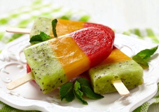 Как сделать фруктовый лед в домашних условиях детям рецепт