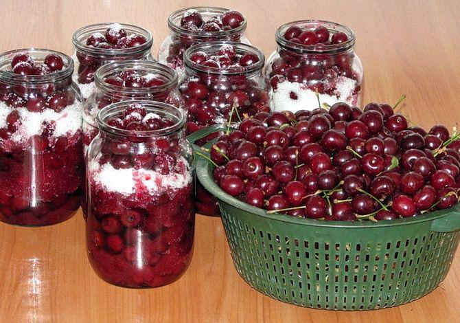 Как сделать наливку из вишни в домашних условиях рецепт