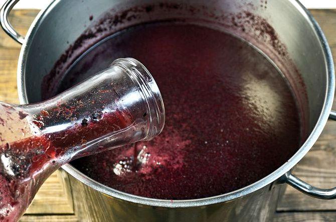 Как сделать вино из черники в домашних условиях рецепт