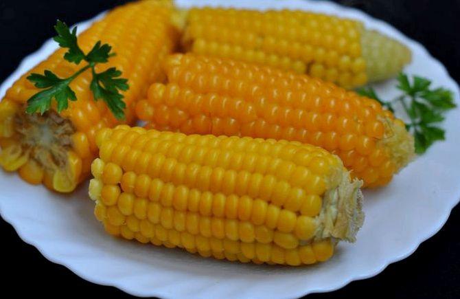 Как варить кукурузу молодую рецепт с фото