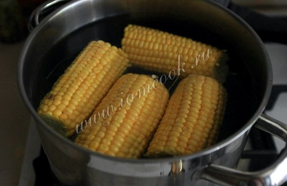 Как варить молодую кукурузу рецепт с фото