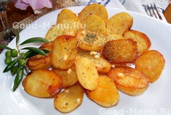 Картофель запеченный в духовке в рукаве рецепт с фото