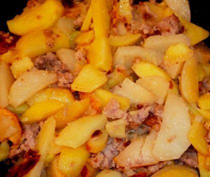 Картофель жареный на сковороде рецепт с фото