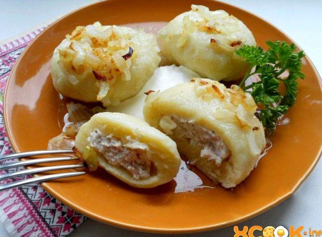 Картофельные галушки рецепт с пошаговым фото