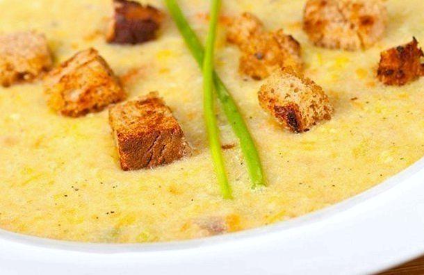 Картофельный суп пюре с гренками рецепт