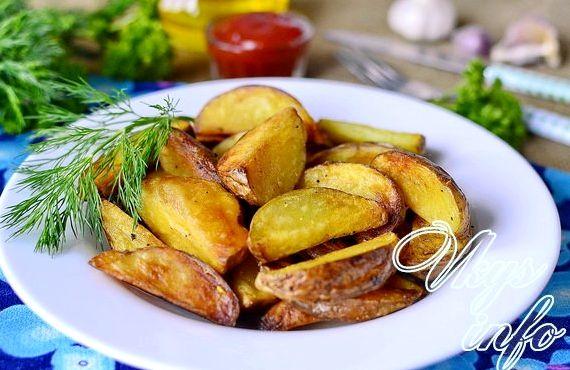 Картошка по селянски на сковороде рецепт с фото