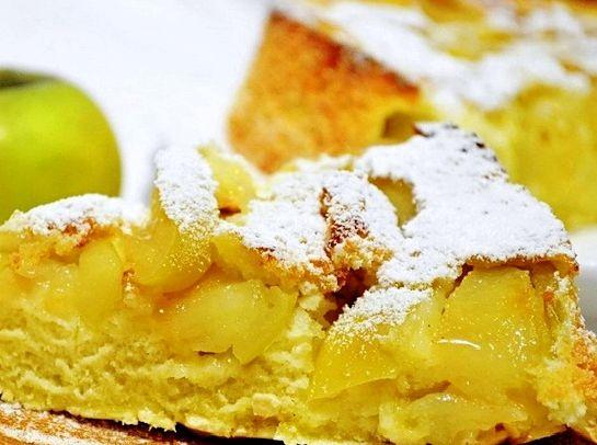 Кекс с яблоками рецепт с фото пошагово в духовке