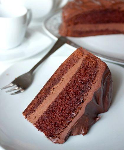 Кекс шоколадный рецепт с фото пошагово в духовке
