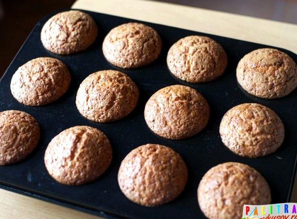 Кексы в формочках в духовке рецепт с фото