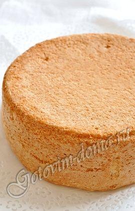 Классический бисквит для торта рецепт с фото
