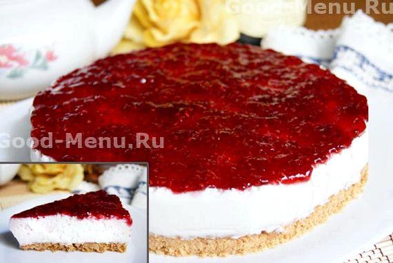 Классический чизкейк без выпечки рецепт с фото