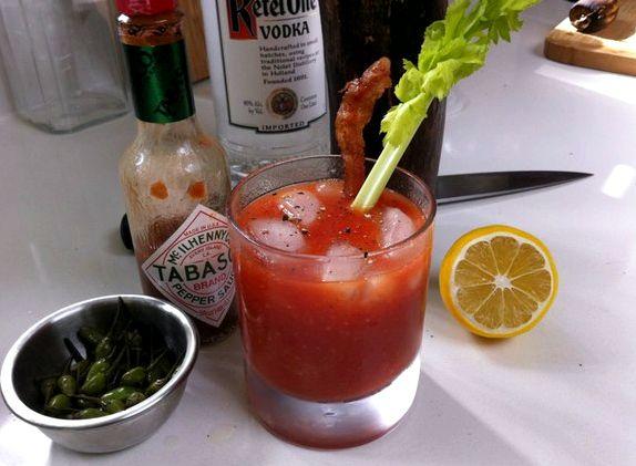Классический рецепт коктейль кровавая мэри
