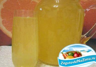 Компот из апельсинов на зиму рецепт с фото