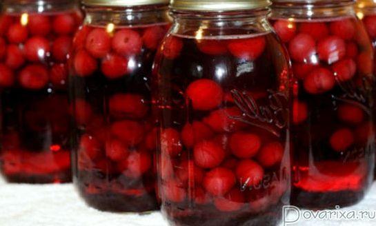 Компот из вишни и смородины рецепт на зиму