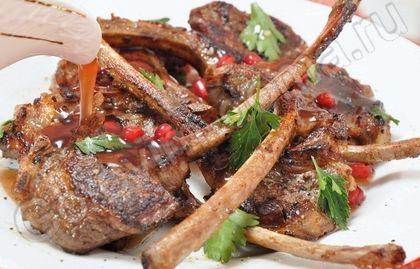 Корейка баранья на кости рецепт в духовке