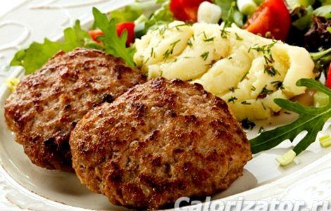 Котлеты из фарша куриного и говяжьего рецепт